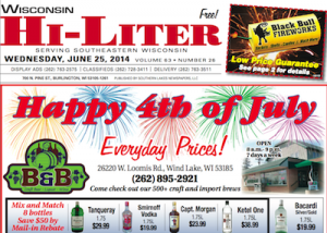 Wisconsin Hi-Liter for 6/25/14