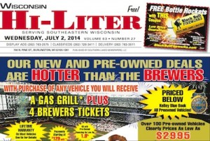 Wisconsin Hi-Liter for 7/2/14