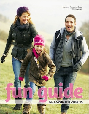 Fall fun guide cover