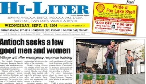 Illinois Hi-Liter for 9/17/14