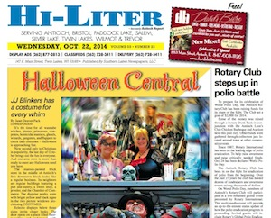 Illinois Hi-Liter for 10/22/14