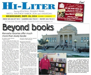 Kenosha Hi-Liter for 11/26/14