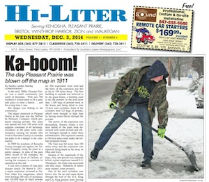 Kenosha Hi-Liter for 12/3/14