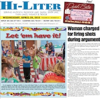 Illinois Hi-Liter 4/29/15