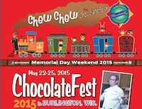 Chocolate Fest Program Book – 2015