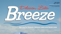 Delavan Lake Breeze July 2015