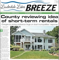 Lauderdale Lakes Breeze July 2015
