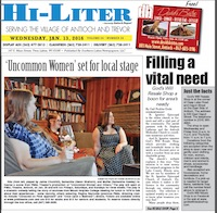 Illinois Hi-Liter for 1/13/2016