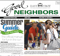 East Troy Good Neighbors for May 2016