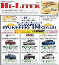 Wisconsin Hi-Liter for 6/8/2016
