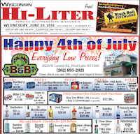 Wisconsin Hi-Liter for 6/29/2016