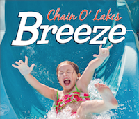 Chain O'Lakes Breeze for July 2016