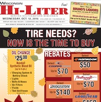 Wisconsin Hi-Liter for 10/12/2016