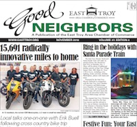 East Troy Good Neighbors for Nov. 2016