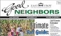 East Troy Good Neighbors for September 2017