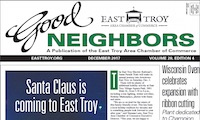 East Troy Good Neighbors for Nov. 2017