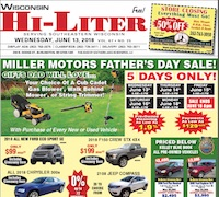 Wisconsin HiLiter for 6/13/2018