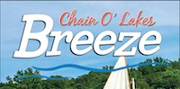 Chain O' Lakes Breeze for July 2018