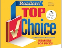Reader's Top Choice for Summer 2018
