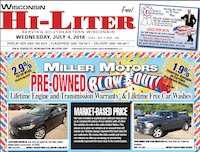 Wisconsin HiLiter for 7/4/2018