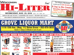 Wisconsin HiLiter for 8/29/2018