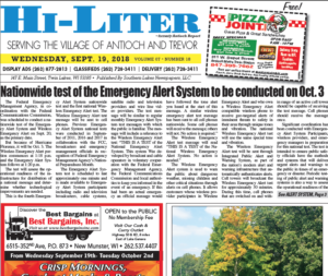 Illinois HiLiter for 9/19/2018