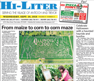 Illinois HiLiter for 9/26/2018