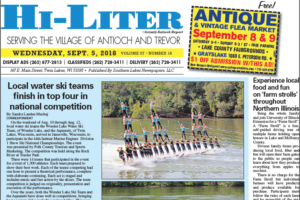 Illinois HiLiter for 9/5/2018