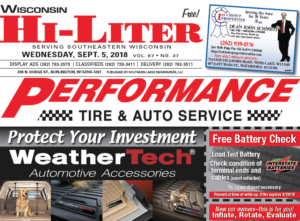 Wisconsin HiLiter for 9/5/2018