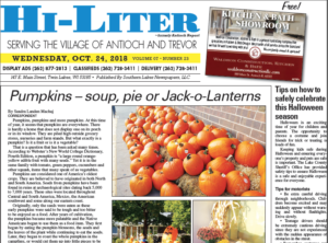 Illinois HiLiter for 10/24/2018