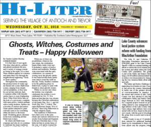 Illinois HiLiter for 10/31/2018