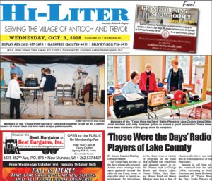 Illinois HiLiter for 10/5/2018