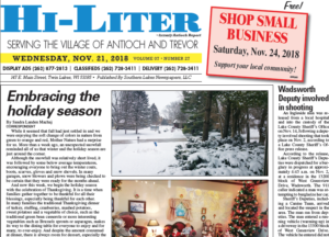 Illinois HiLiter for 11/21/2018