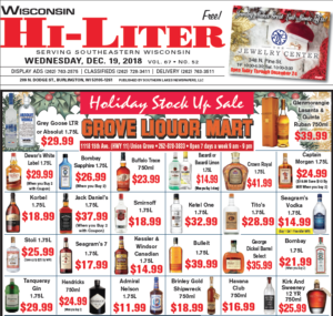 Wisconsin HiLiter for 12/19/2018