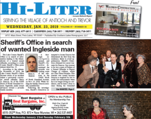 Illinois HiLiter for 1/23/2019