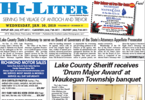 Illinois HiLiter for 1/30/2019