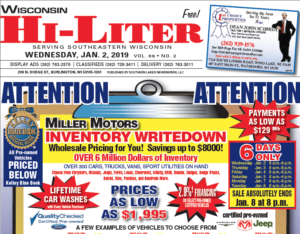 Wisconsin HiLiter for 1/2/2019