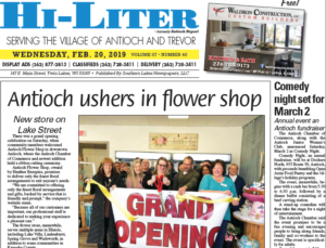 Illinois HiLiter for 2/20/2019