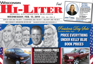 Wisconsin HiLiter for 2/13/2019