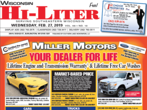 Wisconsin HiLiter for 2/27/2019