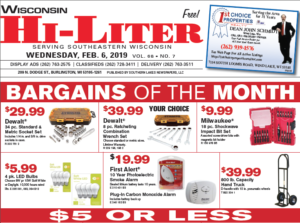 Wisconsin HiLiter for 2/6/2019