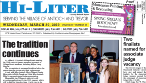 Illinois HiLiter for 3/20/2019