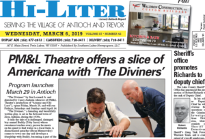 Illinois HiLiter for 3/6/2019