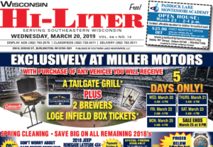Wisconsin HiLiter for 3/20/2019