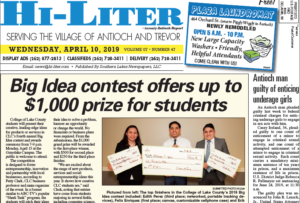 Illinois HiLiter for 4/10/2019