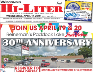 Wisconsin HiLiter for 4/17/2019