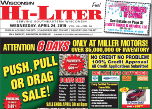 Wisconsin HiLiter for 4/24/2019