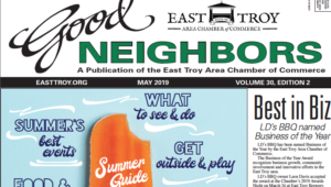 East Troy Good Neighbors, May 2019