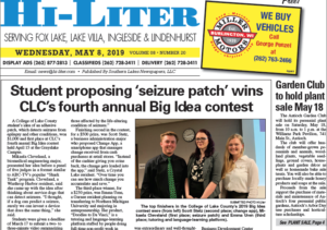 Illinois HiLiter for 5/8/2019