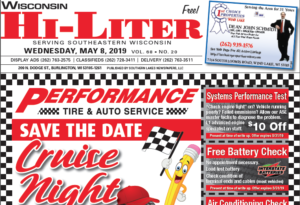 Wisconsin HiLiter for 5/8/2019